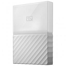 """HD Externo de 1TB WD My Passport WDBYNN0010BWT-0B 2.5"""" USB 3.0 – Branco"""