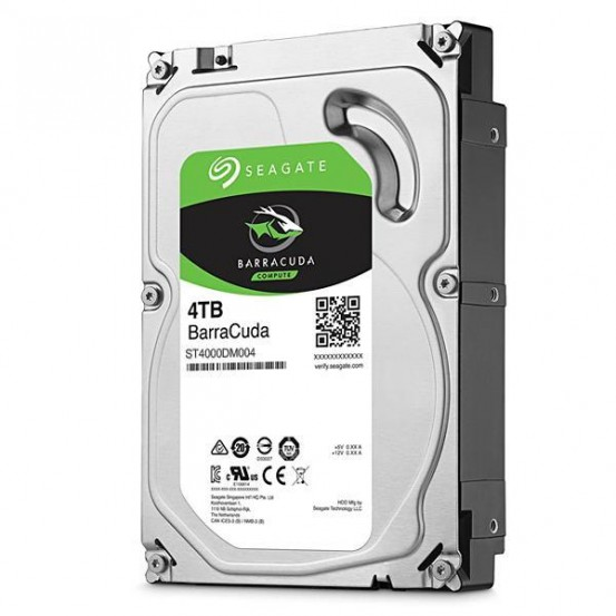 HD Interno de 4TB Seagate BarraCuda ST4000DM004 para PC – Prata