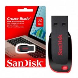 Pen Drive 32gb Sandisk Cruzer Blade Original Lacrado