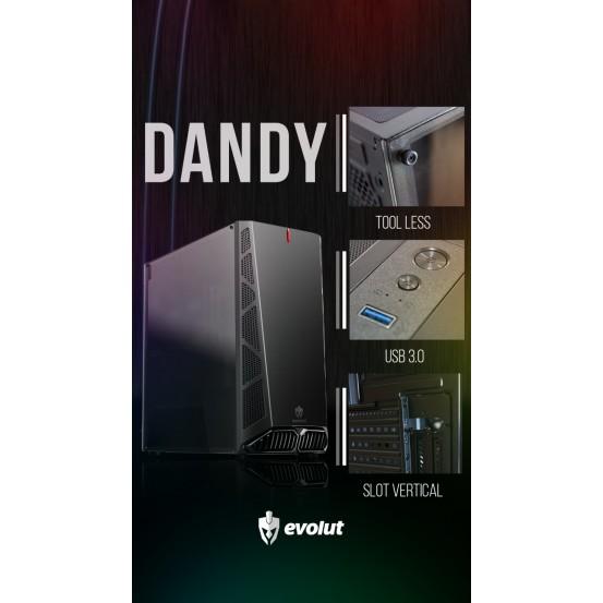 Gabinete  Gamer MID-Tower DANDY EG-810