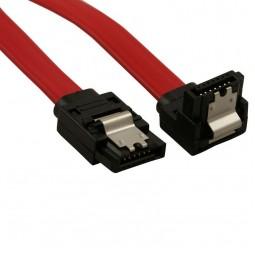 Cabo SATA Dados Plus Cable 180º/180º PC 50CM