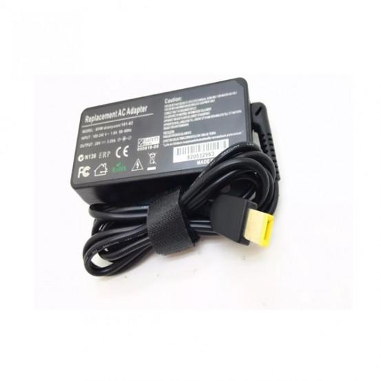 Fonte Notebook Carregador Lenovo 20v 3,25a 65w Pino Quadrado compatível