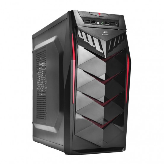 Gabinete Gamer C3 Tech Mt-g70 Bk S/fte