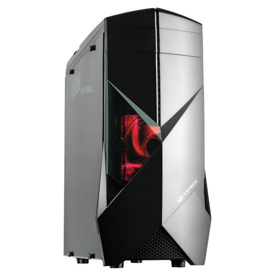 Gabinete ATX (S/fonte) 1b Gamer Mt-g300bk Preto C3tech
