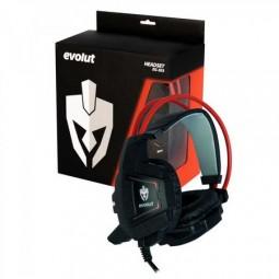 Headset Gamer Som Perfeito Eg303 Evolut Com Led