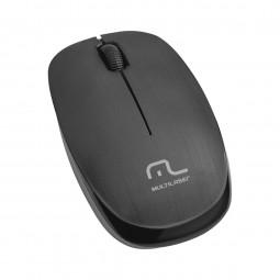 Mouse Sem Fio Multilaser Mo251 Preto