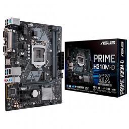 Placa Mãe Asus Prime H310m-D R2.0 Socket Lga 1151 Até 2 Ddr4