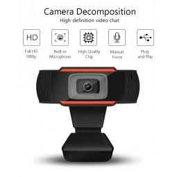 Web cam Ashu 1080p com microfone