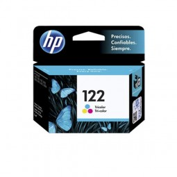 Cartucho De Tinta  Original Hp 122  Ch562hb Color