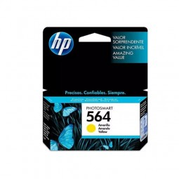 Cartucho De Tinta Original Hp 564 Cb320wl Yellow