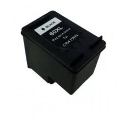 Cartucho De Tinta  Compatível Hp 60XL  Black