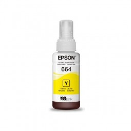 Tinta - Eco Tank 664 Yellow Original Epson