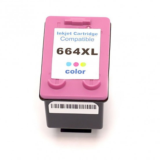 Cartucho Compatível Hp 664xl Colorido Deskjet Ink Advantage