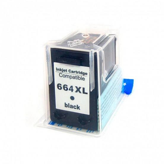 Cartucho De tinta Compatível  Hp 664xl 14ml  Black