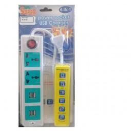 Filtro de linha 2 entradas elétricas,2 entradas  USB LRN