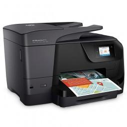 Impressora HP Multifuncional OfficeJet Pro 8715 com Wi-Fi/4 em 1 Bivolt - Preta
