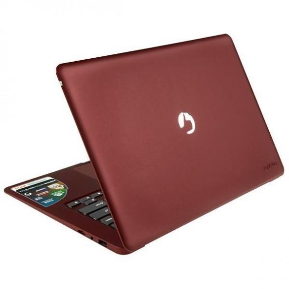 """Notebook Positivo Motion Red Q232A de 14.1"""" com 1.44GHz/2GB RAM/32GB HD - Vermelho"""