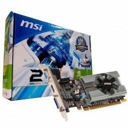 Placa De Vídeo Nvidia Geforce 210 1gb Ddr3 Vga-dvi-hdmi Msi