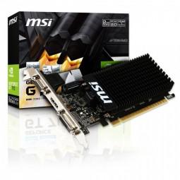 Placa de Vídeo MSI NVIDIA GeForce GT 710 1GD3H LP 1GB, DDR3