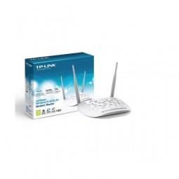Modem Roteador Wifi Adsl2+ 300m Tp-link